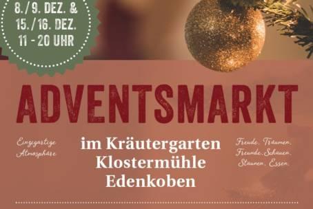 Adventsmarkt im Kräutergarten 15.12.-16.12.2018
