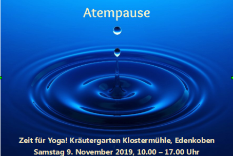 Atempause – Yoga 09.11.2019